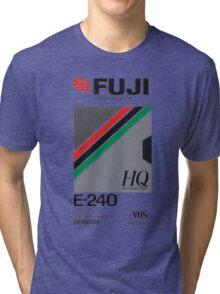 Retro VHS tape vaporwave aesthetic Tri-blend T-Shirt