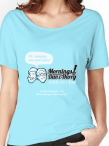 Mornings with Dan & Harry, KPHL 93.2 FM Women's Relaxed Fit T-Shirt