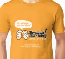 Mornings with Dan & Harry, KPHL 93.2 FM Unisex T-Shirt