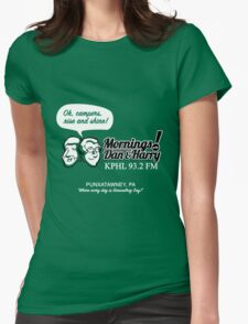 Mornings with Dan & Harry, KPHL 93.2 FM Womens Fitted T-Shirt
