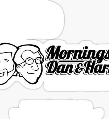 Mornings with Dan & Harry, KPHL 93.2 FM Sticker