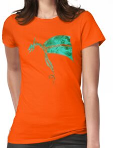 Tribal Life - Wyvern - emerald Womens Fitted T-Shirt
