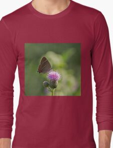 White-letter Hairstreak Butterfly Long Sleeve T-Shirt