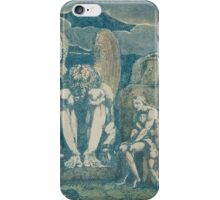 William Blake, frontispiece for America a Prophecy iPhone Case/Skin