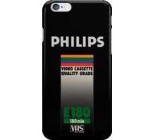 Retro VHS tape vaporwave aesthetic iPhone Case/Skin