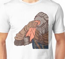 Medieval sweating towel guy Unisex T-Shirt