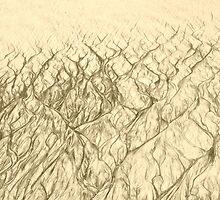 Sand Sketch by Valerie Rosen