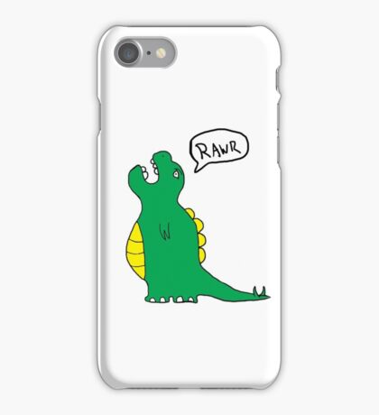 Charlie the dinosaur iPhone Case/Skin