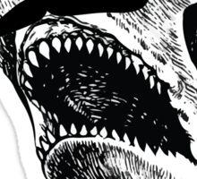 Gentleman Shark Sticker