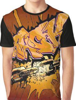 Crack Graphic T-Shirt