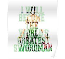Zoro Quote One Piece  Poster