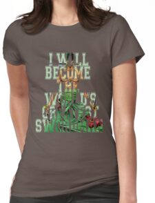 Zoro Quote One Piece  Womens Fitted T-Shirt