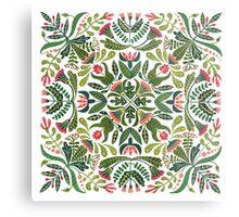 Little red riding hood - mandala pattern Metal Print