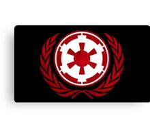 Galactic Empire Emblem Canvas Print