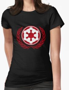 Galactic Empire Emblem Womens Fitted T-Shirt