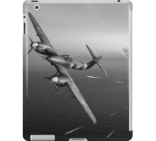 Westland Whirlwind attack e-boats, B&W version iPad Case/Skin
