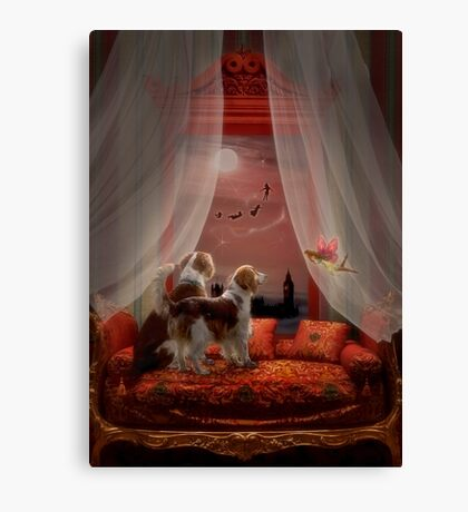 Fairy/Furry Tails Before Bedtime Canvas Print