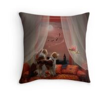 Fairy/Furry Tails Before Bedtime Throw Pillow