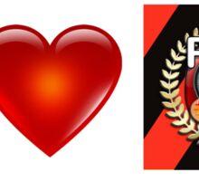 I Love PFA (Red) Sticker