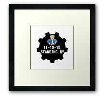 Standing By Framed Print