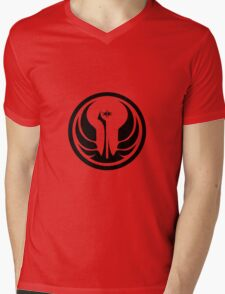 Star Wars The Old Republic Galactic Symbol Mens V-Neck T-Shirt