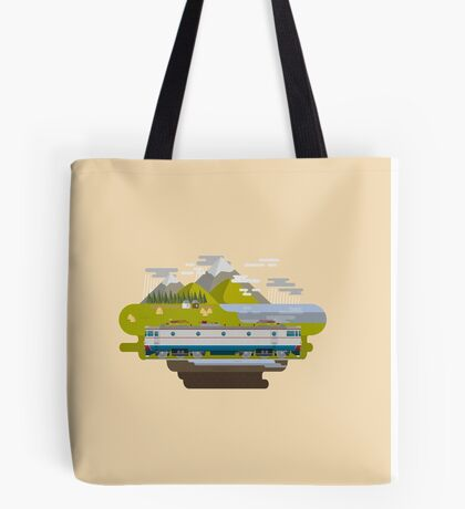 Railway Locomotive #40 Tote Bag