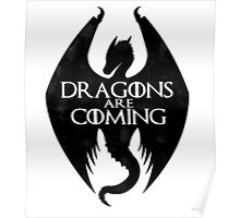 DRAGONS ARE COMING Poster