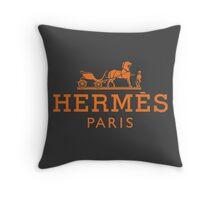 Hermès Paris Throw Pillow