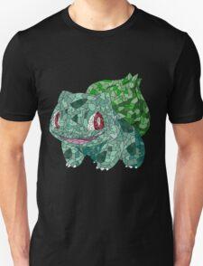 Bulbasaur Mosaic Stained Glass T-Shirt