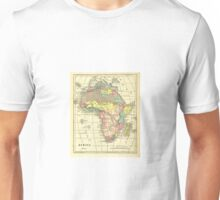 Old map of Africa Unisex T-Shirt