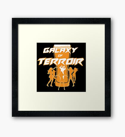 Galaxy of Terroir Framed Print