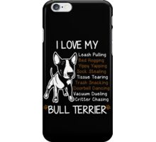 Bull Terrier Lover iPhone Case/Skin