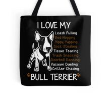 Bull Terrier Lover Tote Bag