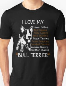 Bull Terrier Lover Unisex T-Shirt