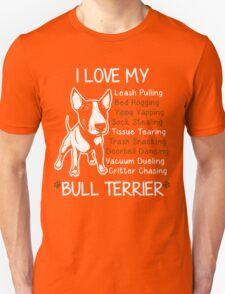 Bull Terrier Lover Unisex T-Shirt