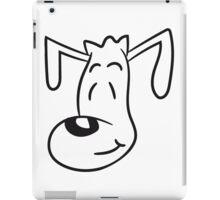 face head pooch tiny sweet little cute dog puppy iPad Case/Skin