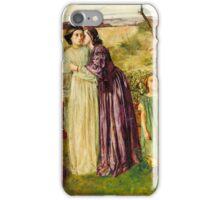 William Lindsay Windus - Too Late, Tate Britain iPhone Case/Skin