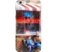 Neighborhood Barber Shop iPhone Case/Skin
