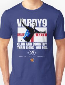 Jamie Vardy LCFC, Club and Country T-Shirt