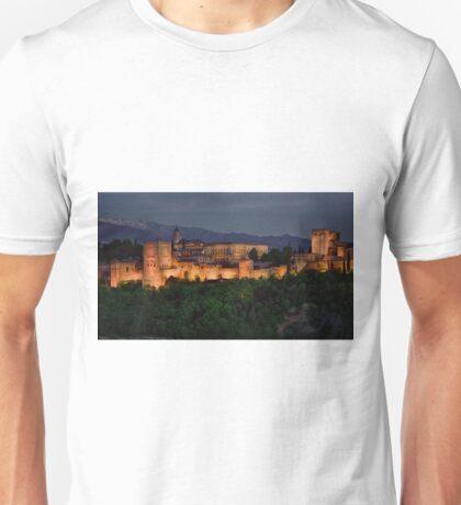Alhambra Sunset Unisex T-Shirt