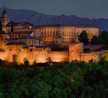 Alhambra Sunset Sticker
