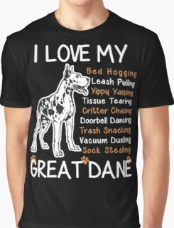 Great Dane Lover Graphic T-Shirt