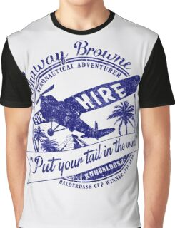 Hathaway For Hire Graphic T-Shirt