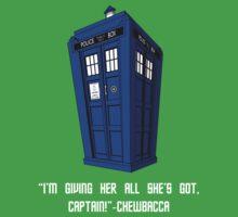 Doctor Who Misquote Kids Tee