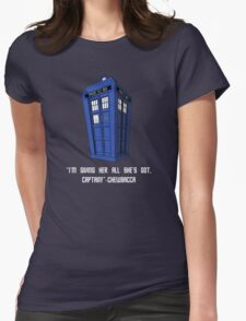 Doctor Who Misquote Womens Fitted T-Shirt