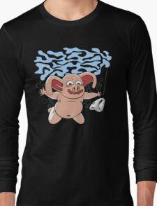 Panties in mind Long Sleeve T-Shirt