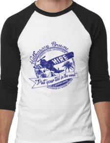 Hathaway For Hire Men's Baseball ¾ T-Shirt