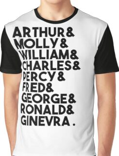 Weasley Family Graphic T-Shirt