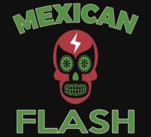 Mexican Flash Super Skull Hero T-shirt Kids Tee