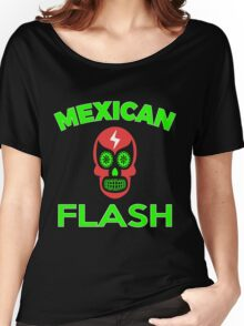 Mexican Flash Super Skull Hero T-shirt Women's Relaxed Fit T-Shirt